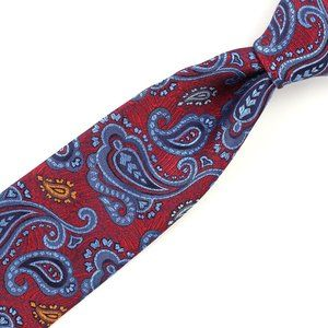 Robert Talbott Best Class Silk Tie Current Paisley